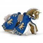 Figurine Cheval du Prince Richard Bleu