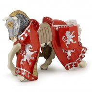Figurine Cheval du Prince Richard Rouge