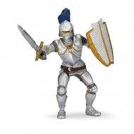 Figurine Chevalier Armure Bleue