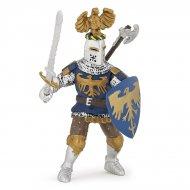 Figurine Chevalier au Cimier Bleu