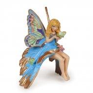 Figurine Enfant Elfe Bleue