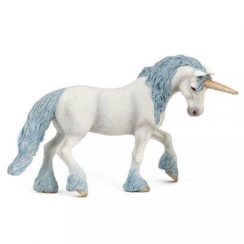 Figurine Licorne Magique Bleue