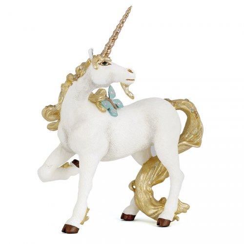Figurine Licorne Dorée