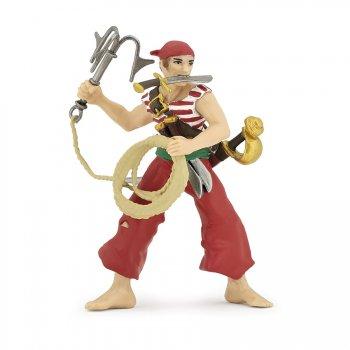 Figurine Pirate au Grappin