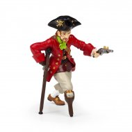 Figurine Pirate jambe de bois au pistolet