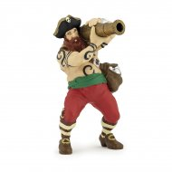 Figurine Pirate au Canon