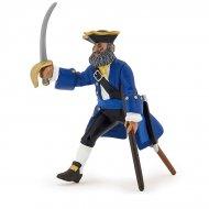 Figurine Capitaine Jambe de Bois Bleu