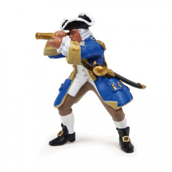 Figurine Capitaine Marine du Roy