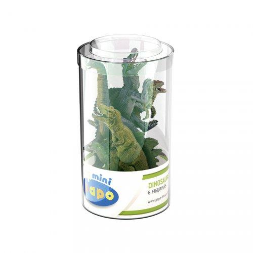 6 Mini Figurines Dinosaures