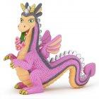 Dragon Rosie langue fleurie