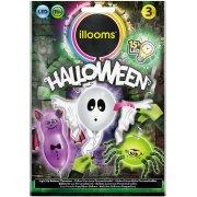 3 Ballons Lumineux LED Halloween � personnaliser