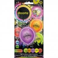 5 Ballons Lumineux LED Joyeux Anniversaire