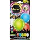 5 Ballons Lumineux LED Unis