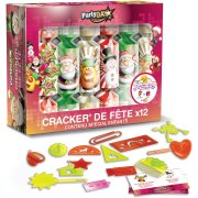 12  Minis Crackers Noël Enfants