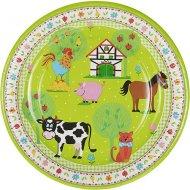 10 Assiettes Little Farm