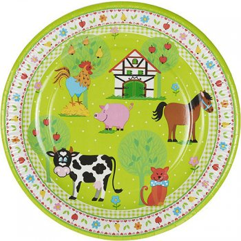 10 Assiettes Little Farm