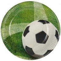 Contient : 1 x 10 Assiettes Football
