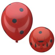 8 Ballons Happy Coccinelle