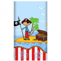 Contient : 1 x Nappe Pirate Island