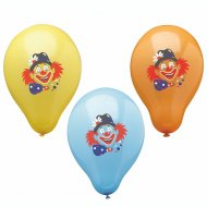 6 Ballons Clown