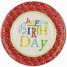 10 Assiettes Happy Birthday Stars