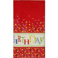 Contient : 1 x Nappe Happy Birthday Stars