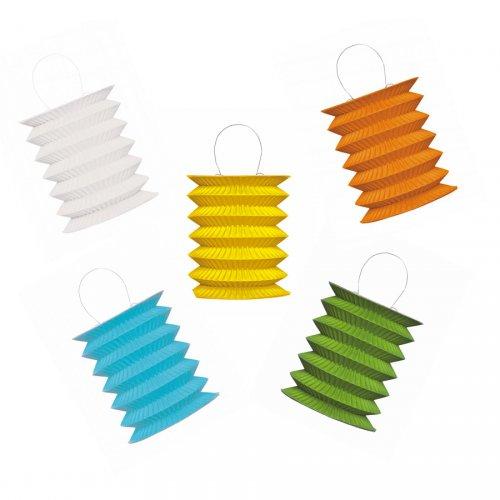 5 Mini lanternes (Coloris à choisir)