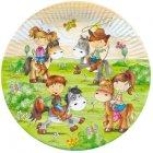 10 Assiettes La ferme aux poneys