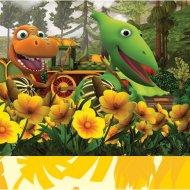 20 Serviettes Dino Train