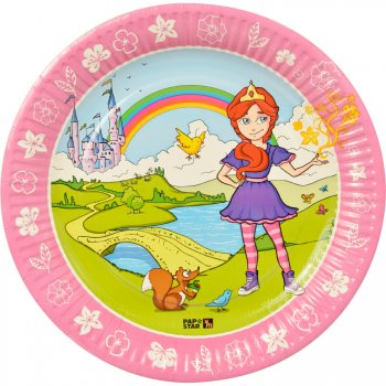 10 Assiettes Princesse Magic Xperience