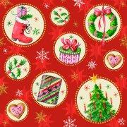 20 Serviettes Noël Chaleur