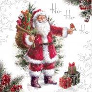 20 Serviettes Père Noël Ho Ho Ho
