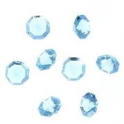 8 Gros Diamants Bleus (3 cm) - Plastique