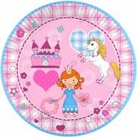 Contient : 1 x 10 Assiettes Princesse Dream