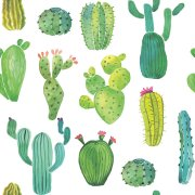 20 Serviettes Cactus