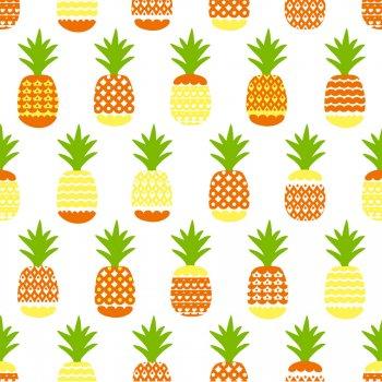 20 Serviettes Ananas