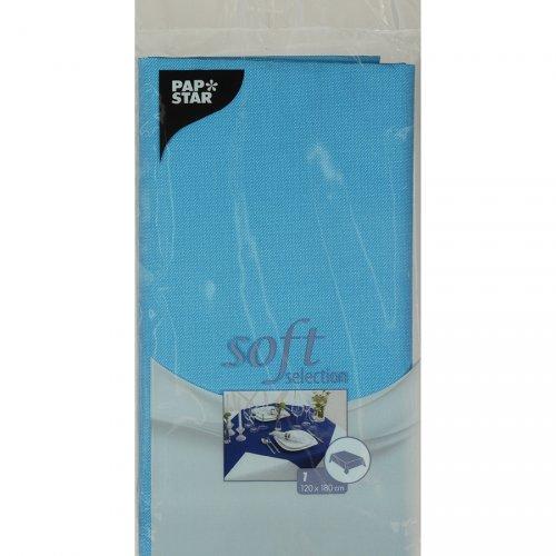 Nappe Soft Selection (180 cm) Bleu Turquoise