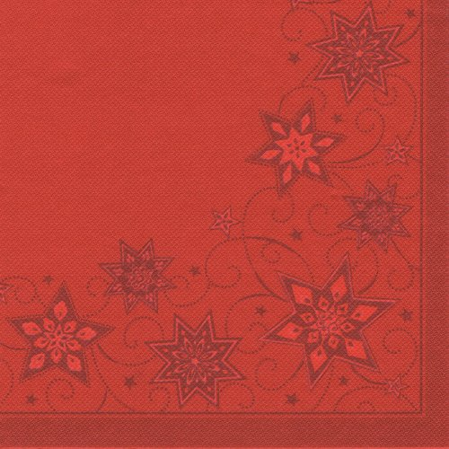 20 Serviettes Royal Collection (40 cm) Rouge