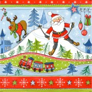 20 Serviettes Christmas Fun