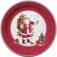10 Assiettes Père Noël Vintage
