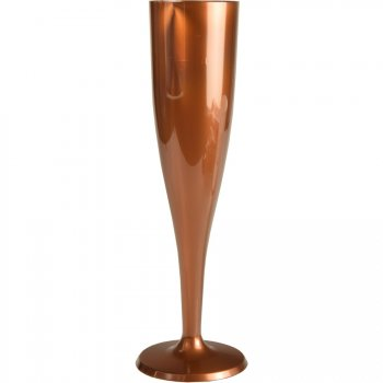 6 Verres Happy Party Rose Gold