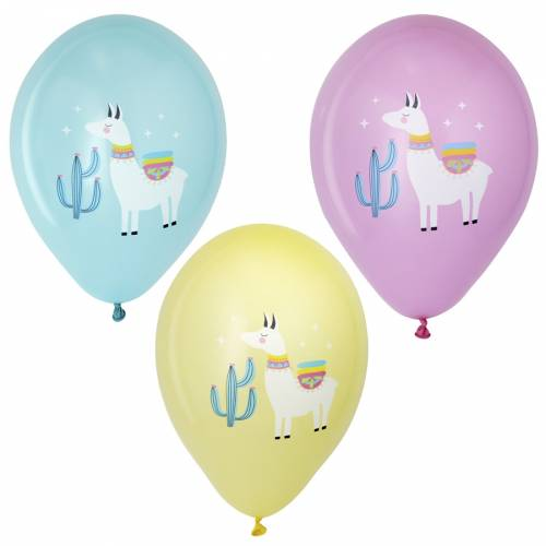 6 Ballons Lama