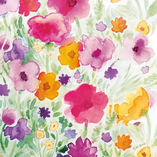 """20 Serviettes """"Flower Field"""""""