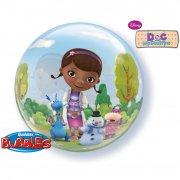 Bubble ballon à plat Dr La Peluche