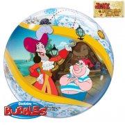 Bubble ballon à plat Jake le Pirate