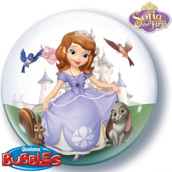 Bubble Ballon à plat Princesse Sofia