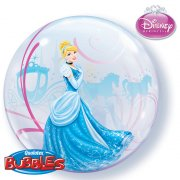 Bubble ballon à plat Cendrillon