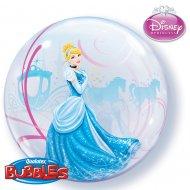 Bubble ballon à plat Cendrillon