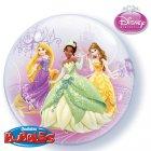 Bubble ballon à plat Princesses Disney