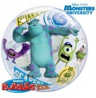 Bubble ballon à plat  Monstres Academy